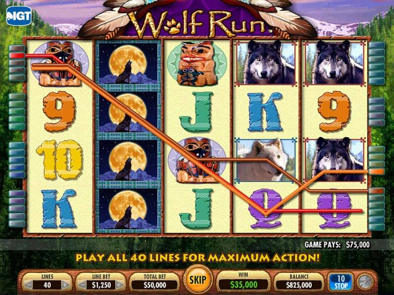 Slots Wolf Game Free